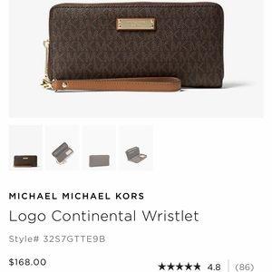 MICHAEL KORS - Signature Wallet